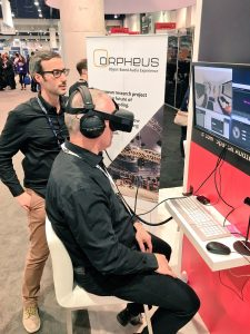 ORPHEUS demo at the NAB Show 2017
