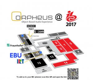 ORPHEUS at IBC 2017 exhibition