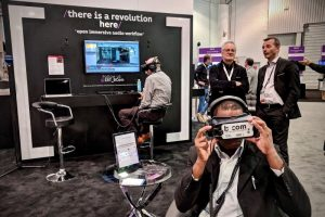 ORPHEUS partner bcom at NAB 2018
